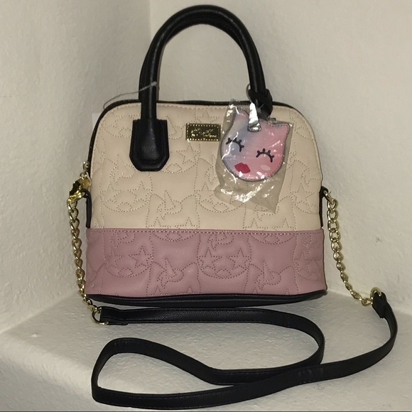 Betsey Johnson Handbags - 💋BETSEY JOHNSON Unicorn Quilted Crossbody Satchel
